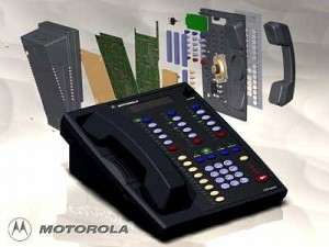 Motorola's new line of digital deskset telephones